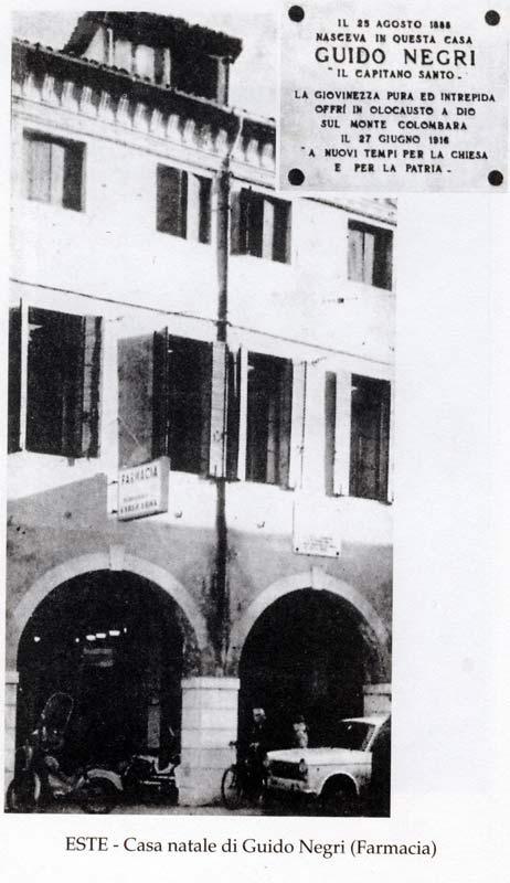 Casa natale di Guido Negri