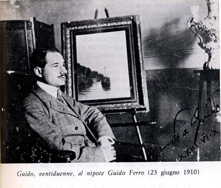 Guido ventiduenne, al nipote Guido Ferro