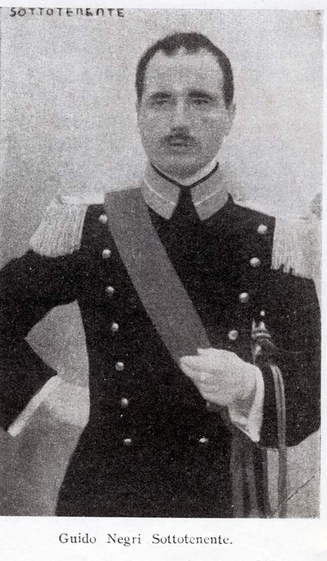 Guido Negri sottotenente