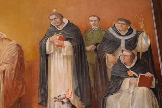 Dipinto sopra l'abside del Seminario Minore di Padova