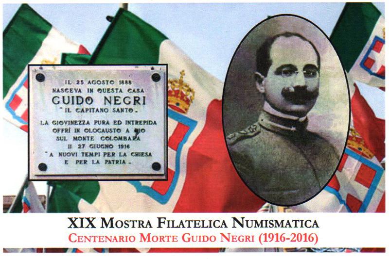 Cartolina commemorativa