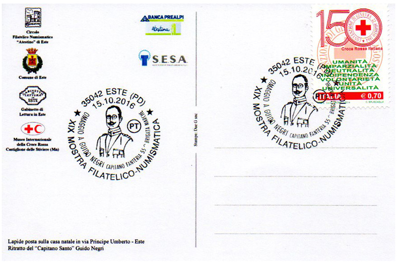 Cartolina con annullo postale
